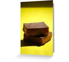 Caramel Shortcake Greeting Card