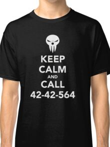 Keep calm and call 42-42-564 Call the Shinigami Classic T-Shirt