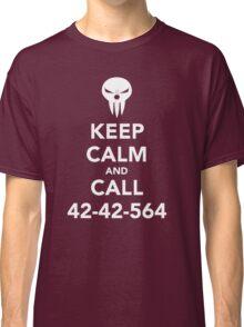 Keep calm and call 42-42-564 Call the Shinigami Classic T-Shirt