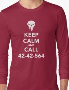 Keep calm and call 42-42-564 Call the Shinigami Long Sleeve T-Shirt