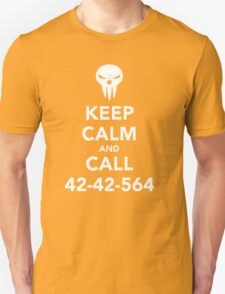 Keep calm and call 42-42-564 Call the Shinigami Unisex T-Shirt