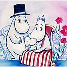 Moomin Family by vivianz