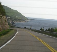 Cabot Trail Out the Back by Cameron  Allen Lamond