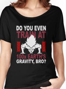 Train Goku Gym Women's Relaxed Fit T-Shirt