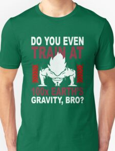 Train Goku Gym T-Shirt