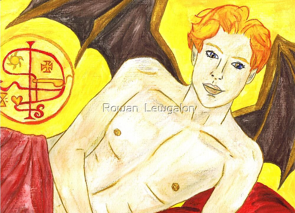 Ashmodai, Demon of Love and Lust by Rowan  Lewgalon