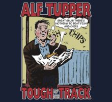 Alf Tupper Tough of the Track Comic Fish & Chips by G4Maitun