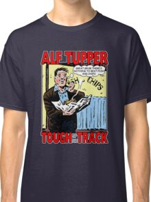 Alf Tupper Tough of the Track Comic Fish & Chips Classic T-Shirt