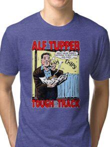 Alf Tupper Tough of the Track Comic Fish & Chips Tri-blend T-Shirt