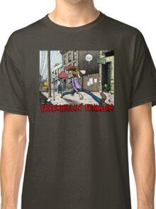 Fabulous Furry Freak Brothers Freewheelin Franklin Classic T-Shirt