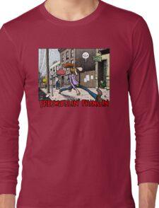 Fabulous Furry Freak Brothers Freewheelin Franklin Long Sleeve T-Shirt