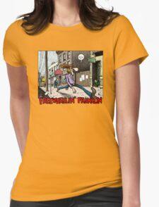 Fabulous Furry Freak Brothers Freewheelin Franklin Womens Fitted T-Shirt