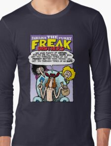 Fabulous Furry Freak Brothers Dope Quote Long Sleeve T-Shirt