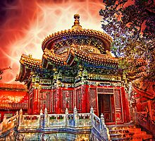 In the Garden of Forbidden City. Beijing. China. by vadim19