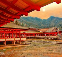 Itsukushima shrine. Miyajima Island, Japan by vadim19