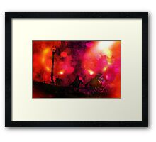 Mordor Unleashed Framed Print