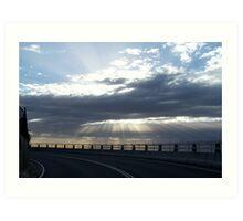 Sea Cliff Bridge II Art Print