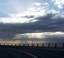 Sea Cliff Bridge II by TainaHall