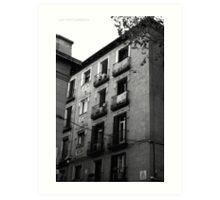 Building in Madrid Art Print