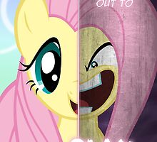 Two Sides - Fluttershy by TehJadeh