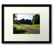 A View Of  Community Park Framed Print