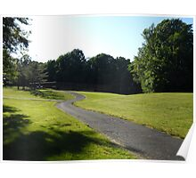 A View Of  Community Park Poster