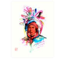 Native American Headdress Art Print