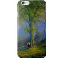 Frodo and The Wood Elves iPhone Case/Skin