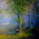 Frodo and The Wood Elves by Joe Gilronan