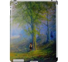Frodo and The Wood Elves iPad Case/Skin