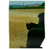 A Rusty Truck in a Napa Valley Winery (V. Sattui Winery) Poster