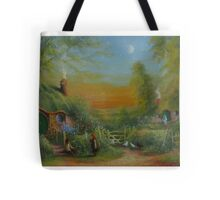 The Shire (Frodo and Sam Making Plans ) Tote Bag