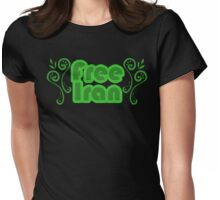 Free Iran Womens Fitted T-Shirt