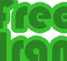Free Iran Sticker