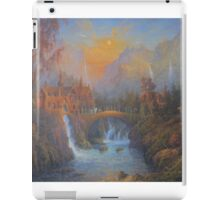 Farewell To Rivendell (The Passing Of The Elves ) iPad Case/Skin
