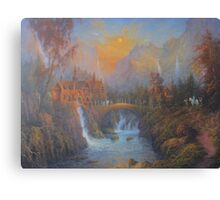 Farewell To Rivendell (The Passing Of The Elves ) Canvas Print