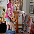 Portrait of the artist with his pants down! by Paul Richmond