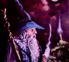 Gandalf Mark Of The Wizard by Joe Gilronan