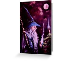 Gandalf Mark Of The Wizard Greeting Card