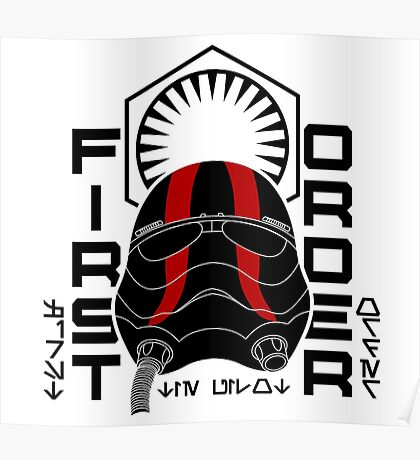 NEW ORDER TIE FIGHTER PILOT Poster