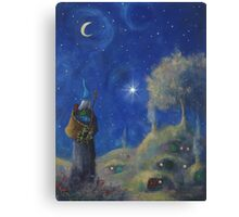 Hobbiton Christmas Eve Canvas Print