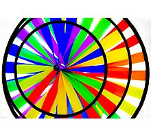 Color Wheel Photographic Print