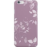 """Warmth"" Floral Print Design / Avalon Media iPhone Case/Skin"