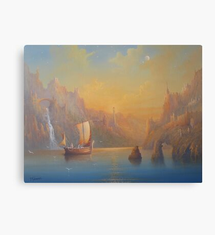 The Immortal Lands Canvas Print