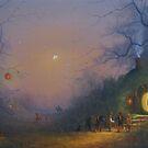 The Pumpkin Seller (Halloween). by Joe Gilronan