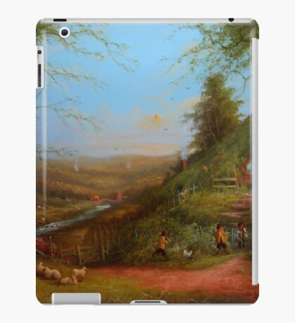 The Day After The Party (Gossip at the gate) iPad Case/Skin