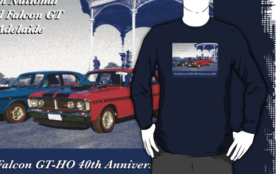 40th Anniversary Ford Falcon GTHO by Ferenghi