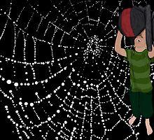 Man Eating Spider by crazyhair13