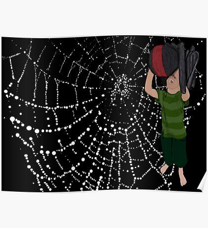 Man Eating Spider Poster