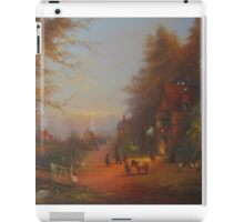 At The Sign Of The Prancing Pony.(An Encounter With Strider.) iPad Case/Skin